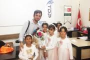 Gaziantep Üniversitesi Toplumsal Duyarlılık Projeleri Merkezi kapsamında yetimleri ziyaret ettik 💐